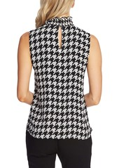 Vince Camuto Ruffle Neck Sleeveless Top