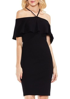 Vince Camuto Ruffle Off-The-Shoulder Dress