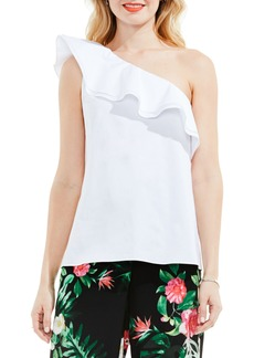 Vince Camuto Ruffle One Shoulder Blouse