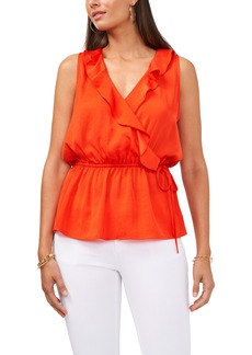 Vince Camuto Ruffle Side Tie Blouse