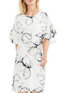 VINCE CAMUTO Ruffle-Sleeve Dress