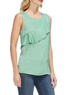 Vince Camuto Ruffle Yoke Sleeveless Blouse