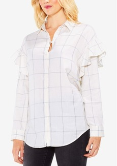 Vince Camuto Ruffled Blouse