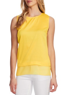 Vince Camuto Rumple Hem Sleeveless Top