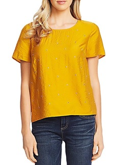 VINCE CAMUTO Rumple Studded Top - 100% Exclusive