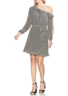 Vince Camuto Sahara Muses One-Shoulder Wrap Style Dress