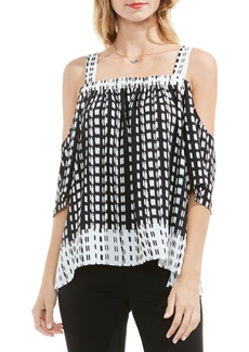 Vince Camuto Sahara Tracks Off the Shoulder Top