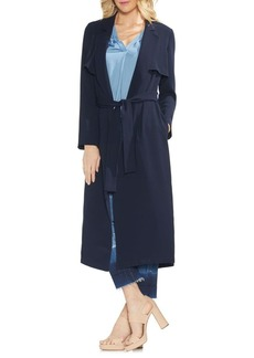 Vince Camuto Sapphire Bloom Trench Coat