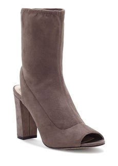 VINCE CAMUTO Sarinta Open Toe Stretch Booties