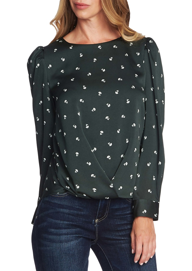 Vince Camuto Scatter Ditsy Top (Regular & Petite)