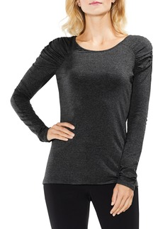 Vince Camuto Scrunch Neck Top (Regular & Petite)