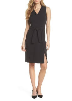 Vince Camuto Scuba Crepe Sheath Dress (Regular & Petite)