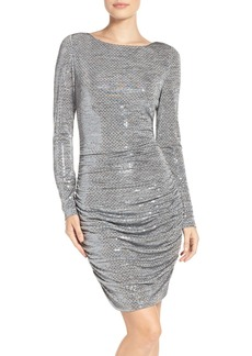 Vince Camuto Sequin Body-Con Dress
