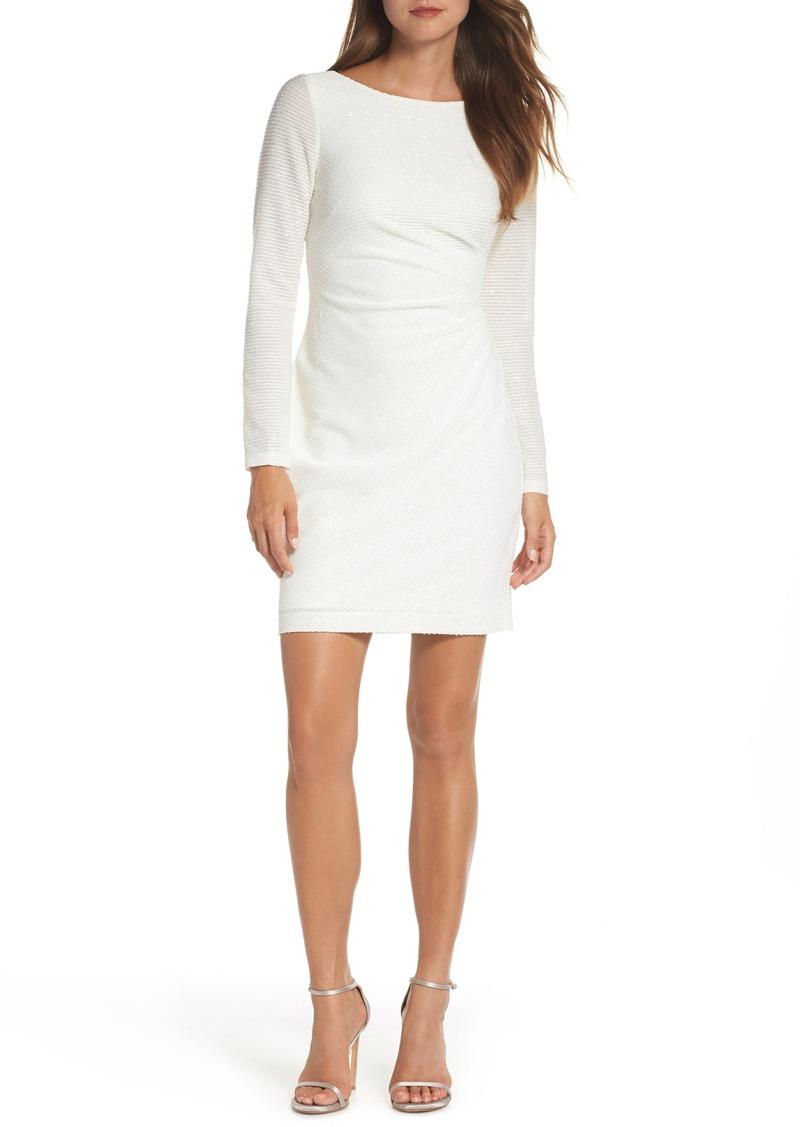 Vince Camuto Sequin Knit Dress (Regular & Petite)