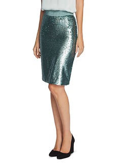 VINCE CAMUTO Sequined Pencil Skirt