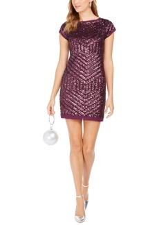 Vince Camuto Sequined Shift Dress