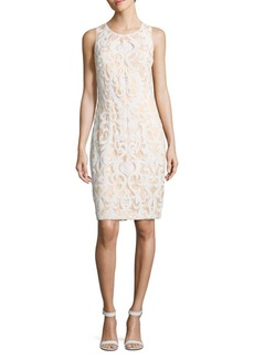 Vince Camuto Sequined Sleeveless Dress