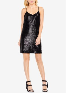 Vince Camuto Sequined Slip Dress
