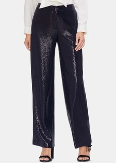 Vince Camuto Sequined Wide-Leg Pants