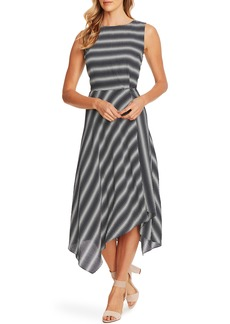 Vince Camuto Serene Strands Asymmetrical Dress