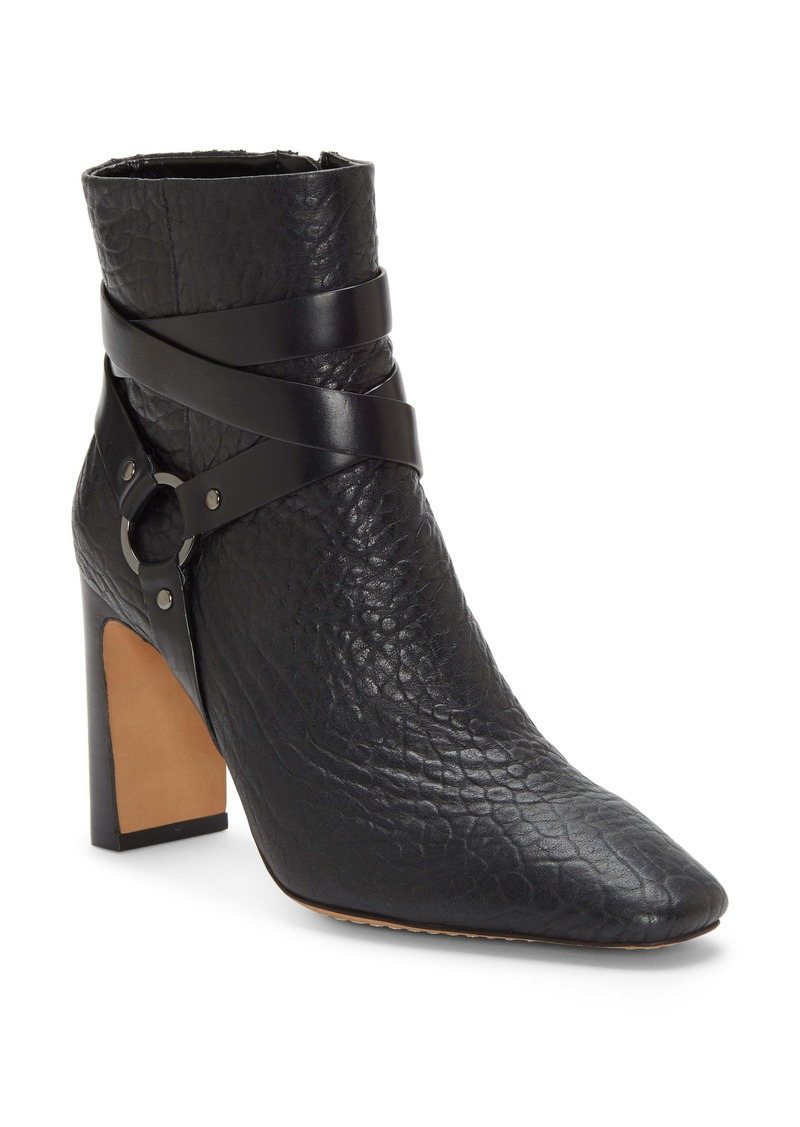 Vince Camuto Sestina Harness Square Toe Bootie (Women)