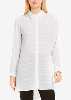 Vince Camuto Sheer High-Low Tunic