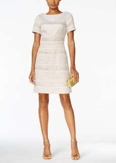 Vince Camuto Shimmer Jacquard Party Dress