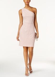 Vince Camuto Shimmer One-Shoulder Dress