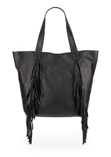 Vince Camuto Shira Fringed Leather Tote