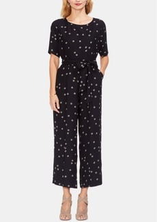 Vince Camuto Short-Sleeve Jumpsuit