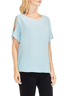 Vince Camuto Shoulder Cutout Top