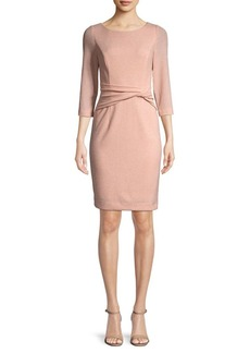 Vince Camuto Side-Knot Sheath Dress