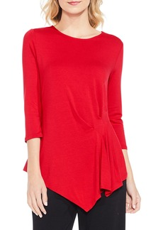 Vince Camuto Side Pleat Asymmetrical Top