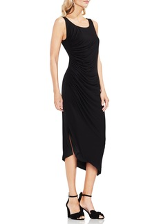 Vince Camuto Side Ruched Asymmetrical Body-Con Dress