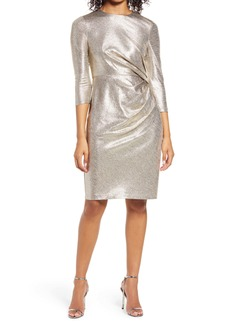 Vince Camuto Side Ruched Cocktail Dress
