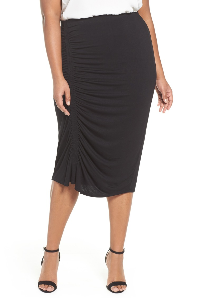 afabbe0e366f3 Vince Camuto Vince Camuto Side Ruched Pencil Skirt (Plus Size) Now ...