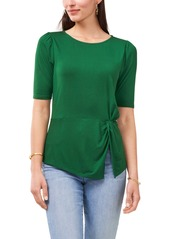 Vince Camuto Side Twist Elbow Sleeve Top