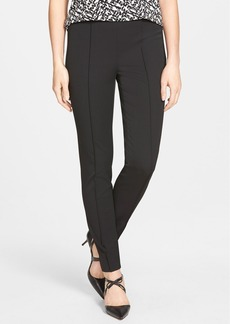 Vince Camuto Side Zip Stretch Twill Pants (Regular & Petite) (Nordstrom Exclusive)