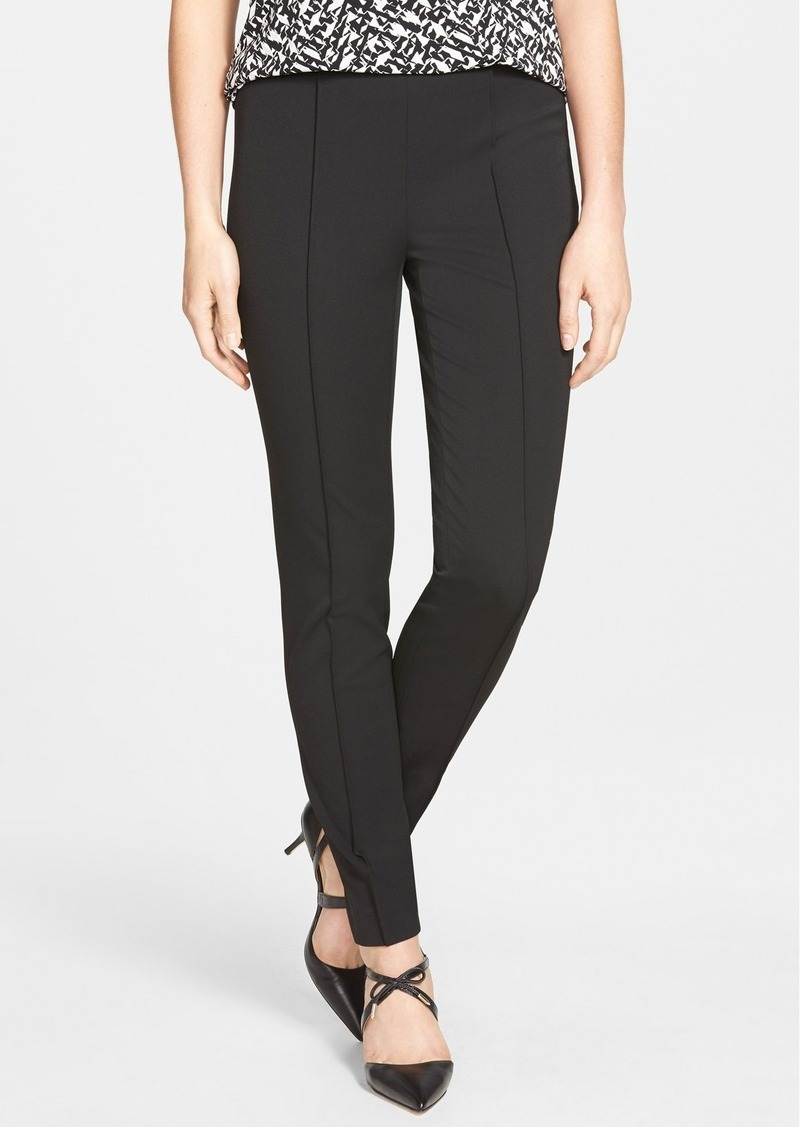 Vince Camuto Side Zip Stretch Twill Pants (Regular & Petite)