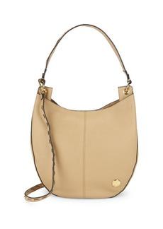 Vince Camuto Sisel Leather Hobo Bag