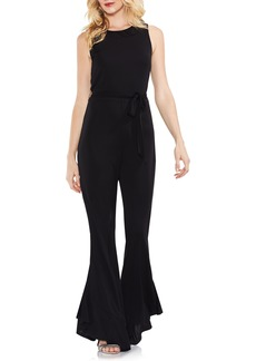 Vince Camuto Sleeveless Belted Jumpsuit