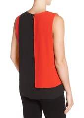 Vince Camuto Sleeveless Colorblock Blouse