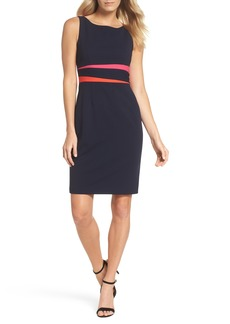 Vince Camuto Sleeveless Colorblock Dress