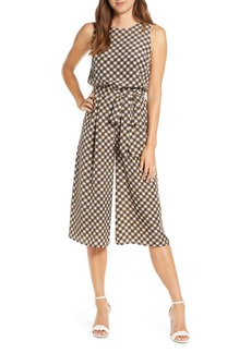 Vince Camuto Sleeveless Cropped Jumpsuit (Regular & Petite)