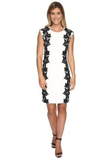 Vince Camuto Sleeveless Dress with Side Lace Panels