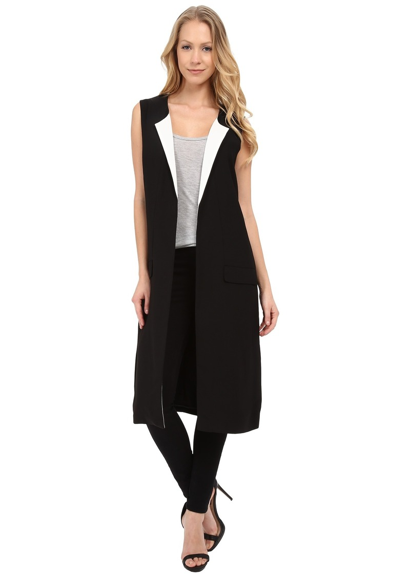 Vince Camuto Sleeveless Duster