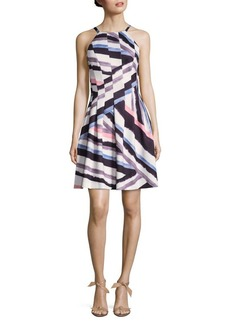 Vince Camuto Sleeveless Fit-&-Flare Dress