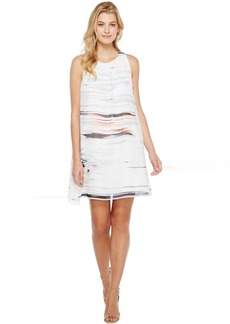 Vince Camuto Sleeveless Floating Whispers Dress