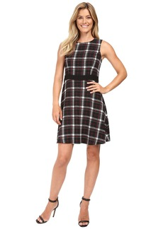 Vince Camuto Sleeveless Harbour Plaid Dress