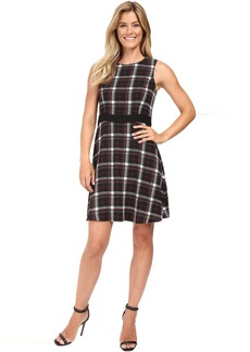 Sleeveless Harbour Plaid Dress